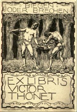 10 Viktor Exlibris (1910) P. Breithut