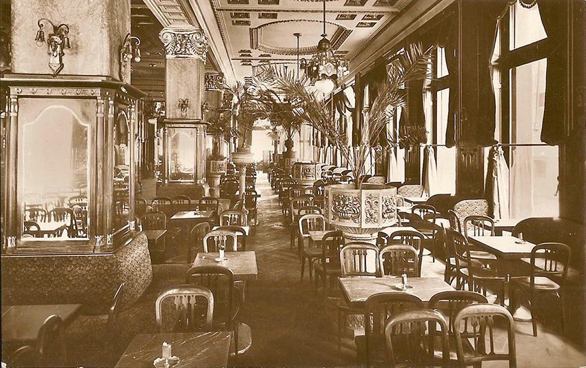 cafe Budapest 1917