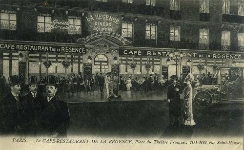 Cafe de la Regence exterior