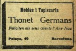 El poble Català, 1 de gener de 1918.