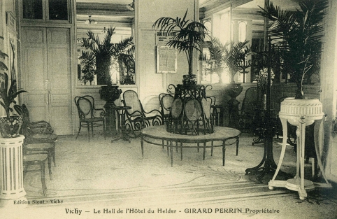 Hall del hotel de Helder