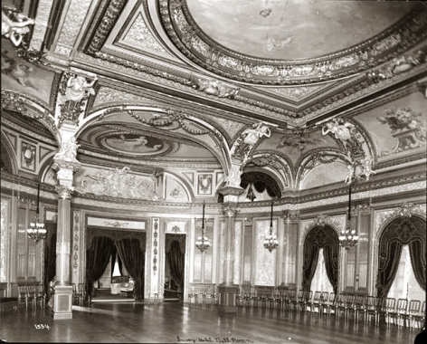 hotel savoy ballroom photo by Byron Company, Museum of the City of N.Y.