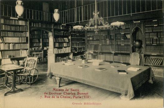 Maison de sante Bonnet bibliotheque