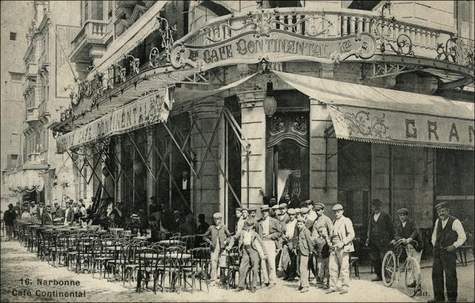 Narbonne Cafè Continental