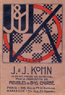 portada poster Kohn 1902