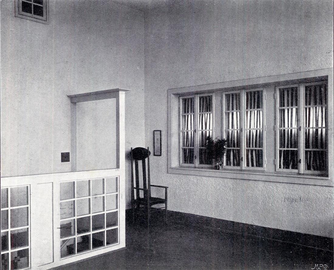 Casa de Koloman Moser Innen Dekoration