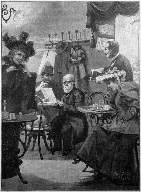 Die_Gartenlaube_(1895)_b_801 Menzel in Cafe Josty