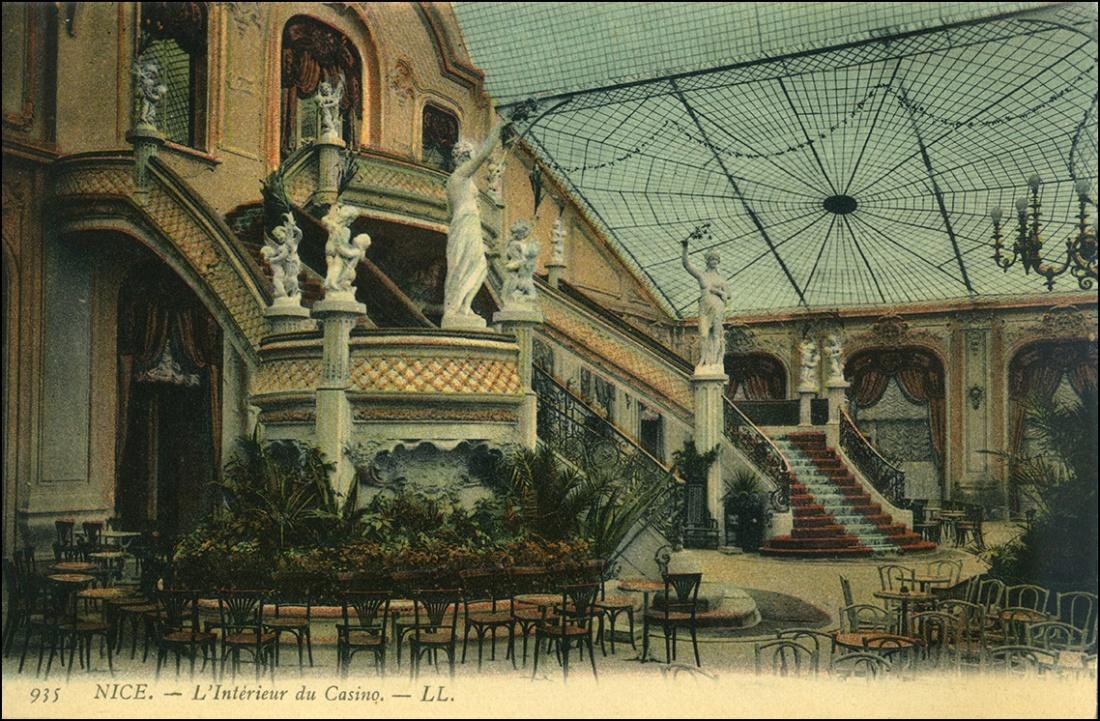 interior del casino de niza