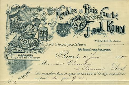 Factura Paris 1900- recortada