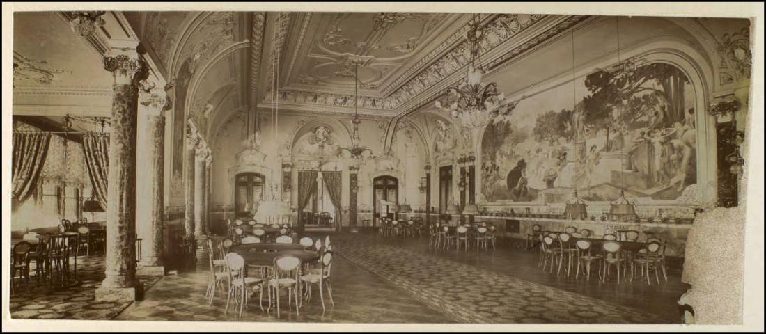 SALON INTERIEUR DE L'HOTEL REGINA, RUE DES PYRAMIDES, 1ER ARRONDISSEMENT, PARIS