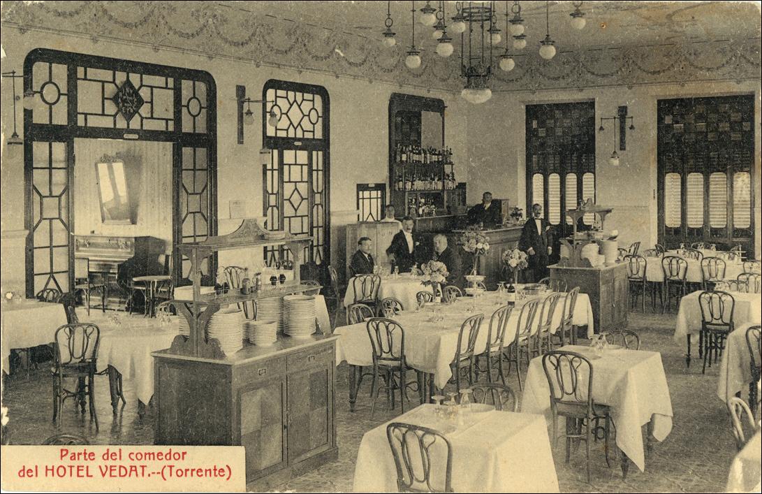 Comedor del Hotel Vedat Torrent