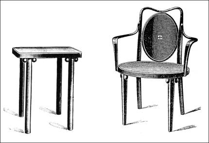 mesa y sillon