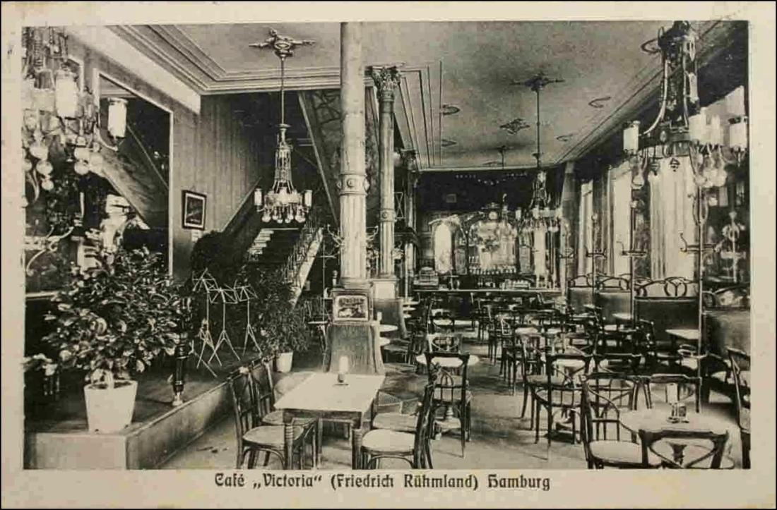 Cafe Victoria antes Kleinschmidt