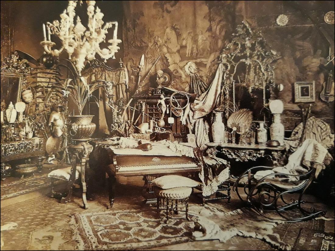 6 Studio de Tito Conti, c. 1875-1900 Florencia Foto Allinari