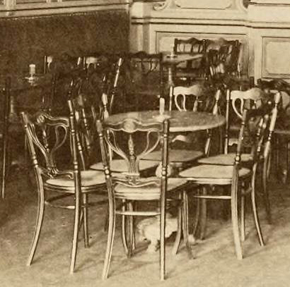 Cafe Ronacher Berlin Der innere Ausbau vol II DET