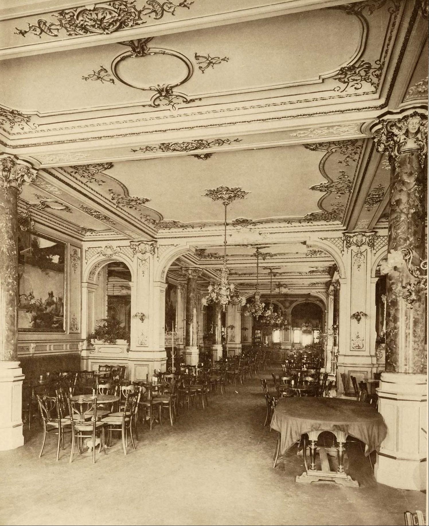 Cafe Ronacher Berlin Der innere Ausbau vol II RECORTADA