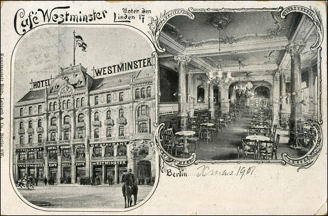 Hotel Cafe Westminster