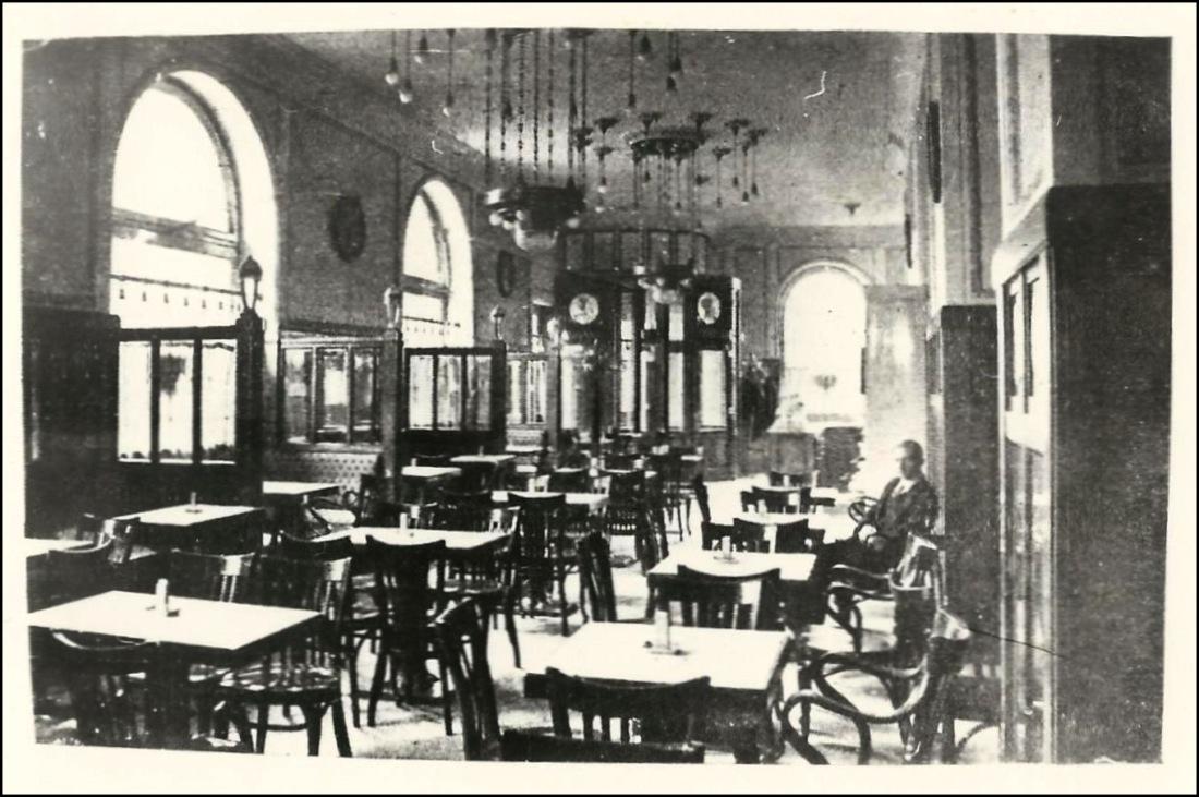 Jókai park kávéház, Budapest, 1912