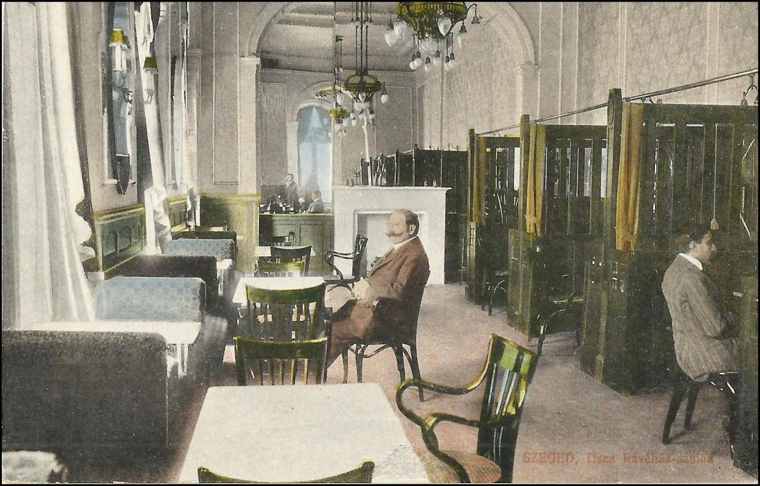 Tisza szálloda kávéháza