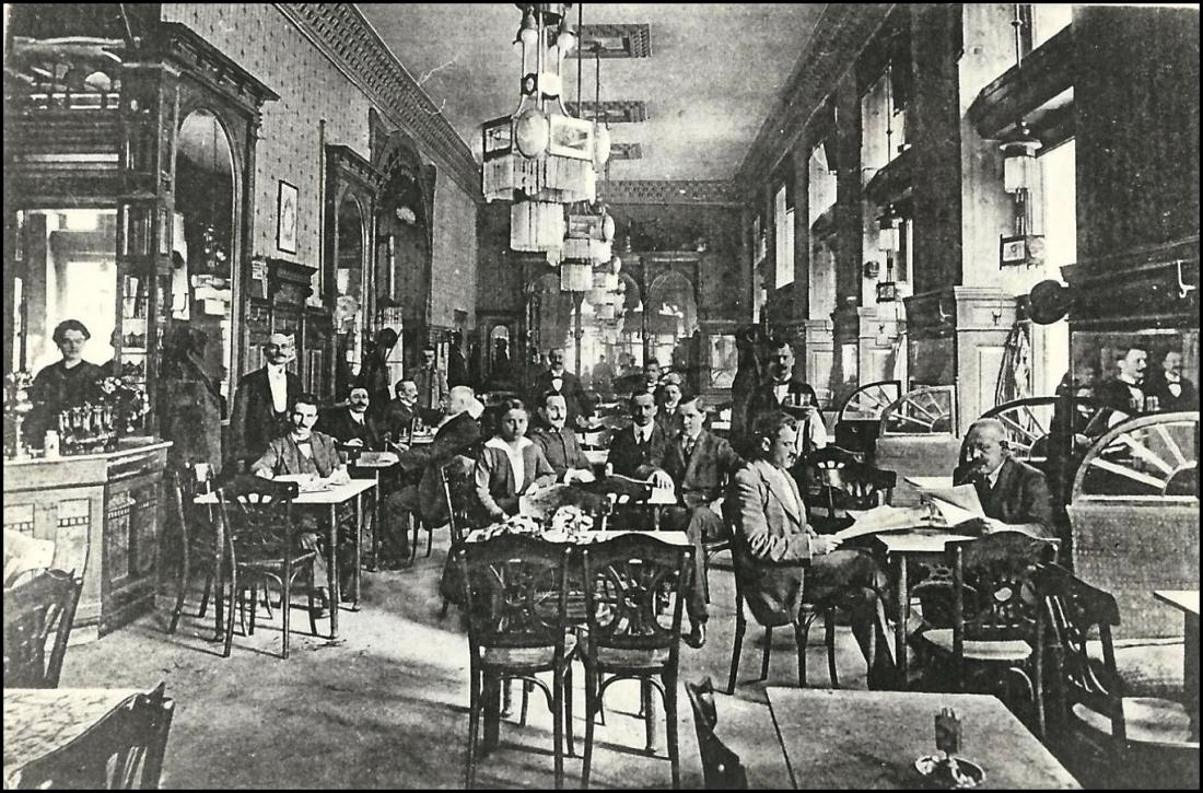 2 VF_6091 Deák Kávéház, Budapest, 1910-es évek