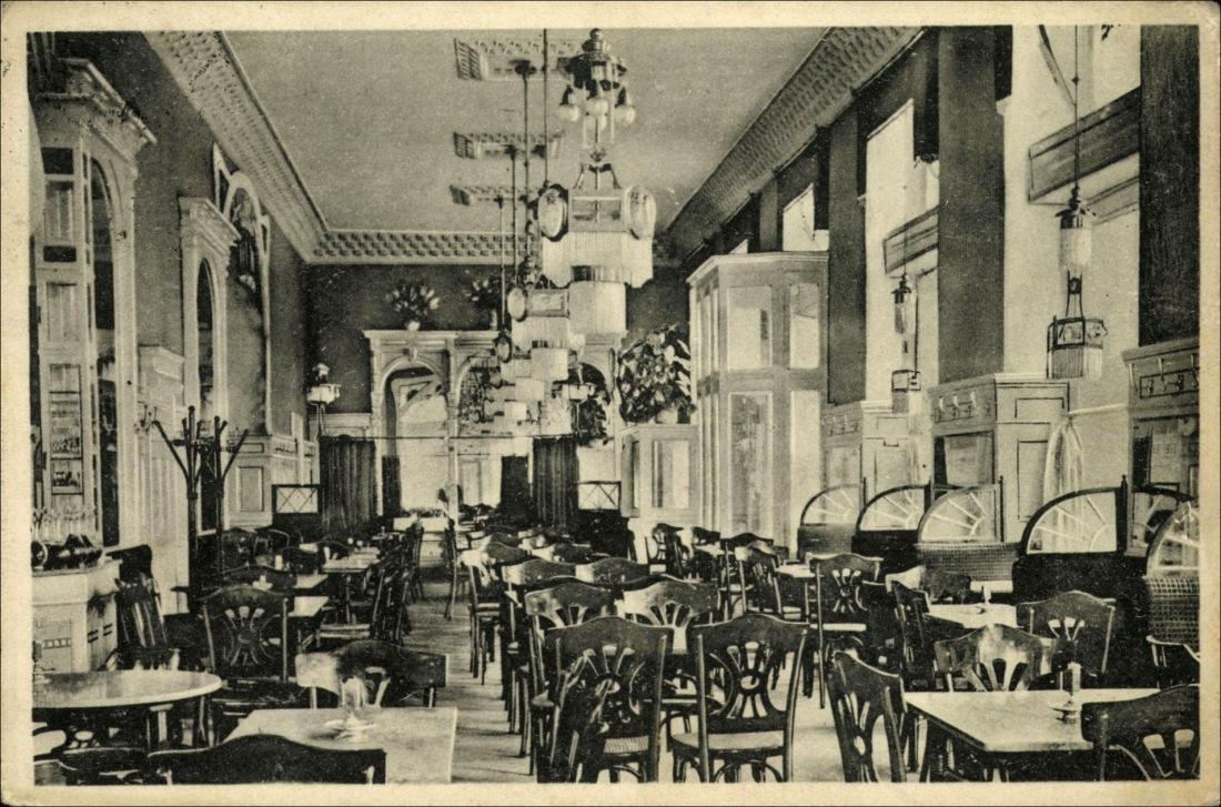 Kanczler Gy. és Társa, Mikszáth kávéház, Budapest, VIII.,