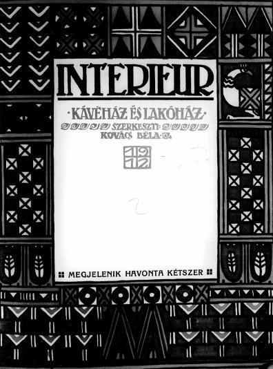 Interieur - 1. évf.2. sz. (1912. február 10.)