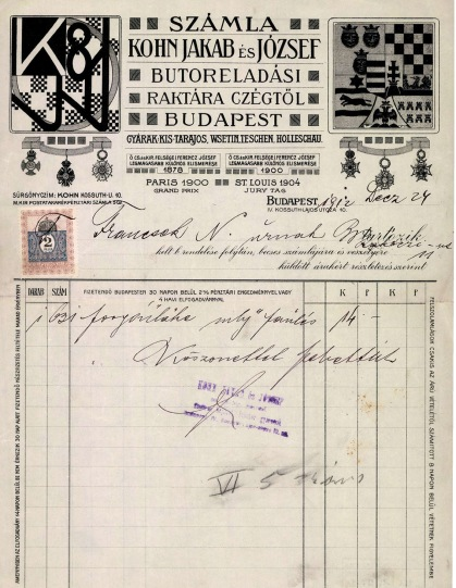 Factura Húngara reducida