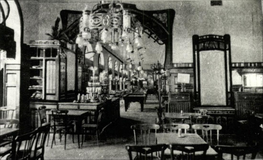 Ámor kávéház, Budapest, Nagymező u.