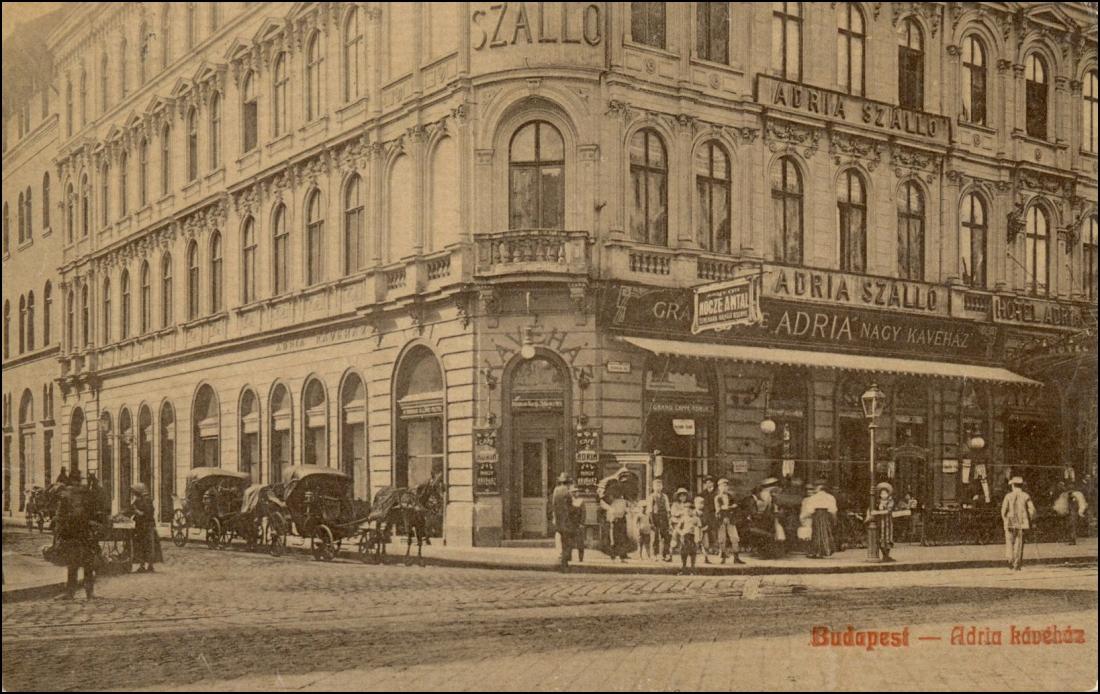Adria Kávéház Budapest