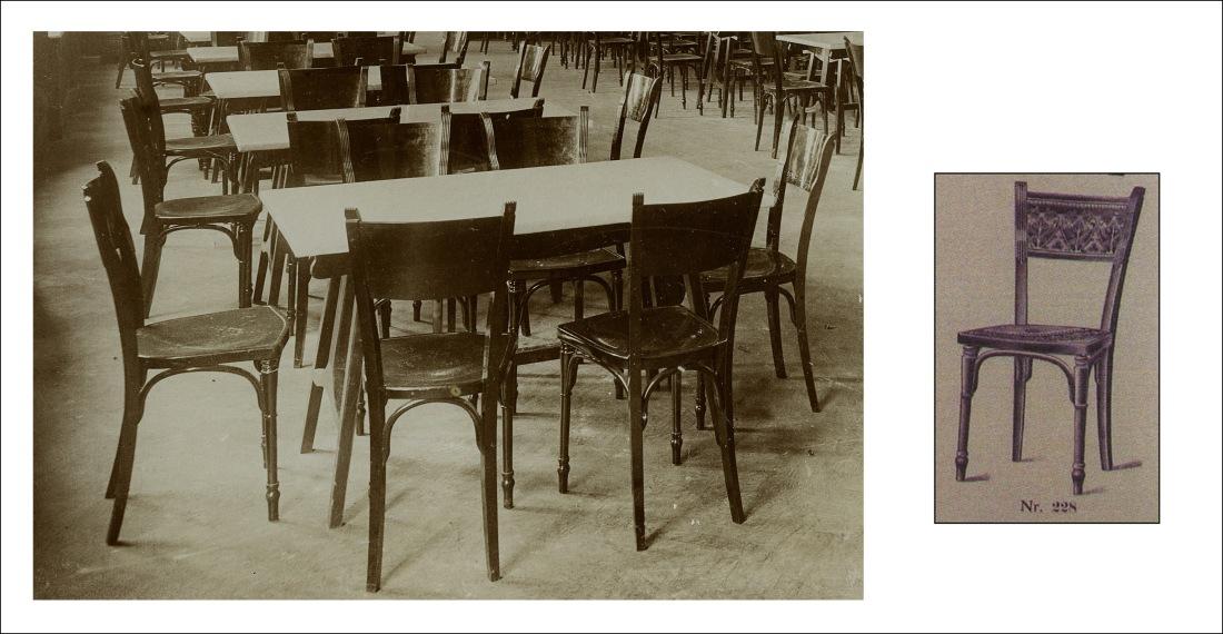 Detalle de las sillas del comedor