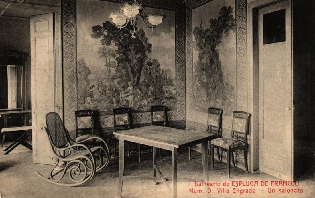 Hotel Villa Engracia saloncito