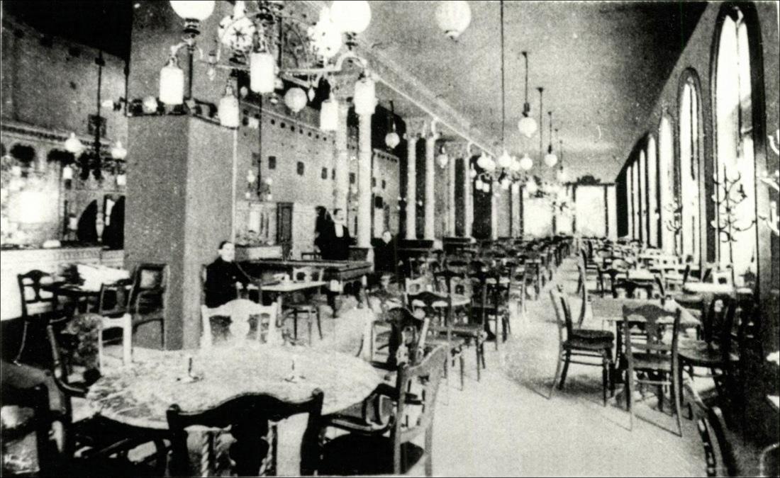 Berger Leó kávéháza (Báthory)