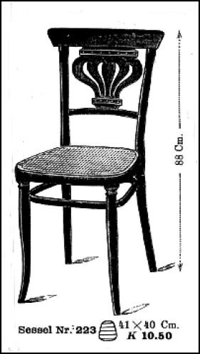 GEBRÜDER THONET - ohýbaný nábytek