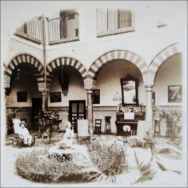 Córdoba Patio de una casa particular